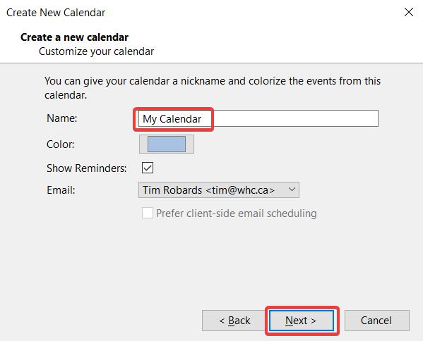 Synchronizing Calendars in Thunderbird
