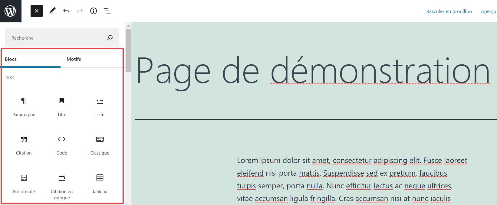 WordPress 5.8 Update