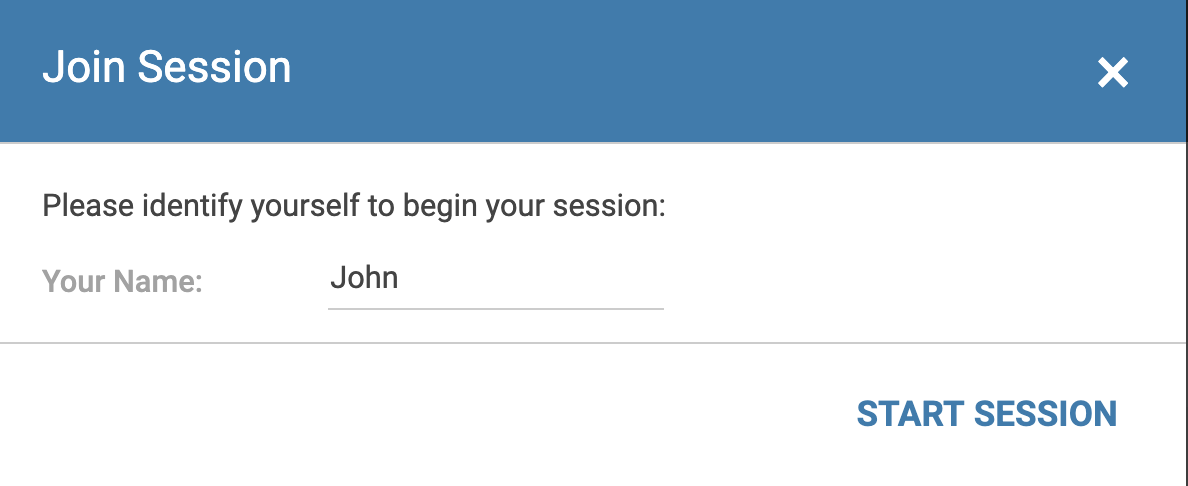 Join session